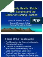 Community Health and Public Health Nursing