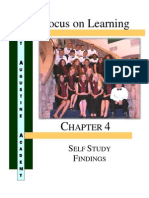 Chapter 4 Self Study Findings 02-17-12