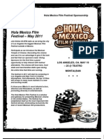 Hola Film Festival General Proposal
