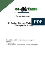 Feldman, Esther - El Poder de Los Valores en Tiempos de Crisis