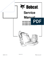 8612958-Bobcat 442 Mini Excavator Service Repair Manual Download S N 522311001 Above S N 528911001 Above S N 528611001 Above