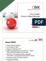 Dbak r12 Report Manager_rmoug Qew Aug 2011