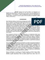 ACUERDO OBRAS PUBLICAS 2010