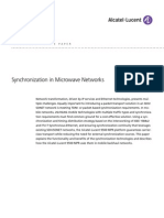 9500 MPR Synchronization in Microwave Networks Tech Whitepaper