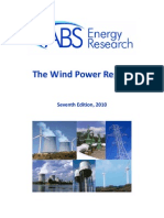 Wind Power Report 2010