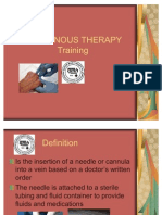 Training Intravenous Therapy