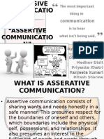 Passive and Aggressive Communication
