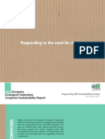 EEF Event Sustainability Report