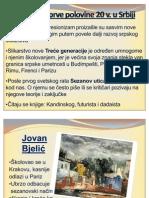 Umetnost Prve Polovine 20 v. u Srbiji