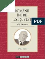 Romanii Intre Est Si Vest