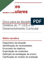 Matrizescurriculares