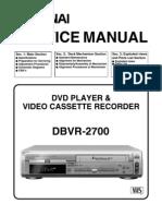 DBVR 2700ServcieManual Copy[1]