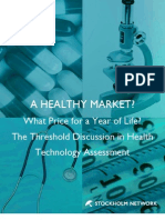 The Threshold Discussion in Health Technology Assessment