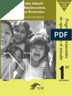 Desarrollo Infantil y de Los Adolesc