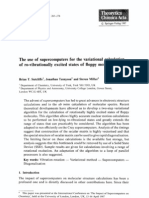Brian T. Sutcliffe, Jonathan Tennyson and Steven Miller- The use of supercomputers for the variational calculation of ro-vibrationally excited states of floppy molecules
