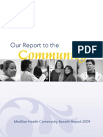 2009 Community Benefit Report