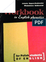 Jolanta Szpyra-Kozłowska, Włodzimierz Sobkowiak - Workbook in English phonetics