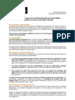 CP KM SIMMTGI Mobilite et Pratiques alimentaires 2012