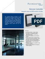 Remote Controller English Datasheet