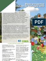 Etude Prospective Massif des Landes de Gascogne à l'horizon 2050