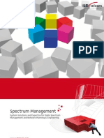 LS Brochure Spectrum Management System Solutions for Radio Spectrum Management and Network Planning and Engineering