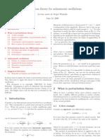 Winitzki - Perturbation Theory for An Harmonic Oscillations