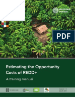 Opportunity Cost of REDD+
