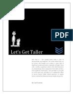 Lets Get Taller Report