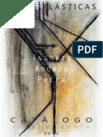 Catálogo independente 2012 - Isabela Andere Pedra - Artes Plásticas