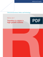 McKinsey Telecoms. RECALL No. 17, 2011 - Transition to digital in high-growth markets