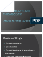 Anticoagulants Mark Lafuente