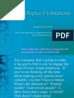 360 Degree Evaluation