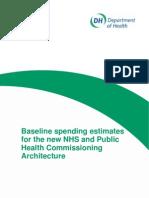 Estimates for New NHS Public Health Spending