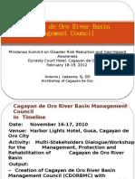 Cagayan de Oro River Basin by Archbishop Ledesma