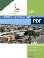 Zwelihle Community Profile published 2011