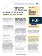 Three Basic Approaches and 1 Central Repository