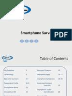 Smart Phone Survey Report