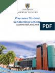 Overseas Scholarship Booklet 2012