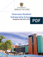 Overseas Scholarship Booklet 2012