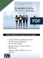 Aula 03 Fayol e a Escola Do Processo de Adm - Parte 1