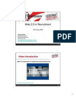 Web 2 in Recruitment