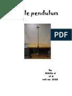 Simple Pendulum