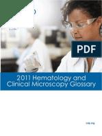 2011 Hematology Glossary