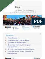Estudio sobre las dinámicas sociales en torno a las movilizaciones del 15-M en Bilbao