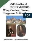 MAYNE of Buckinghamshire