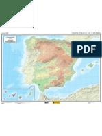 MapaFisicoDeEspanaMudo