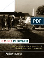 Poverty in Common by Aloysha Goldstein