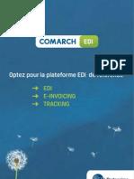 Plaquette EDI Comarch - Plate forme EDI Et Gestion Documentaire