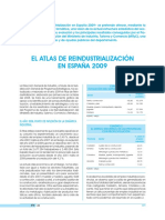 El atlas de reindustrialización de España 2009