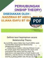 teori hubungan pj